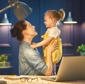 Mama und Karriere